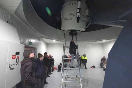 Visiting Astronomy group